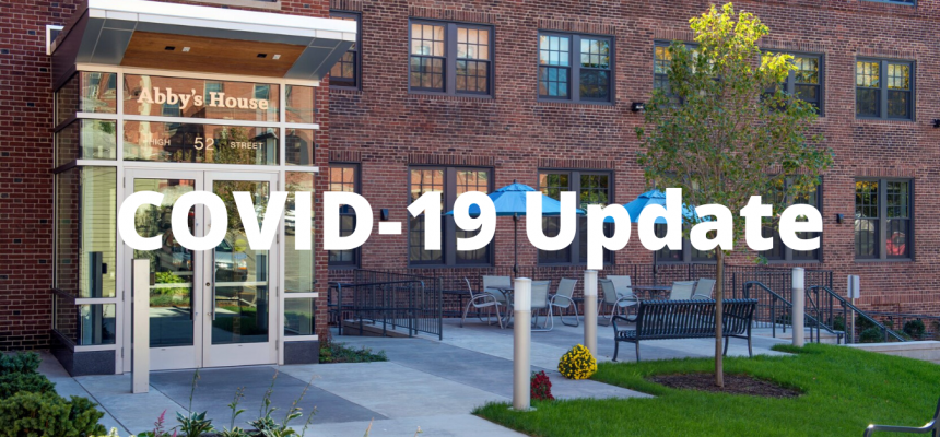 COVID-19 Update From The Executive Director