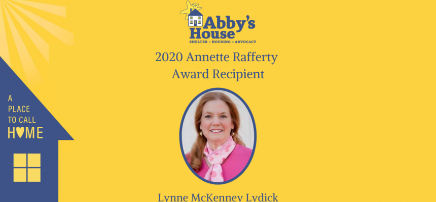2020 Annette Rafferty Award Recipient