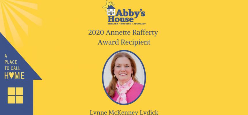2020 Annette Rafferty Award Recipient