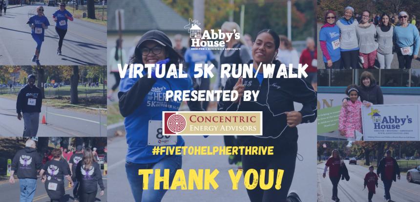 Virtual Abby's House 5K Success!