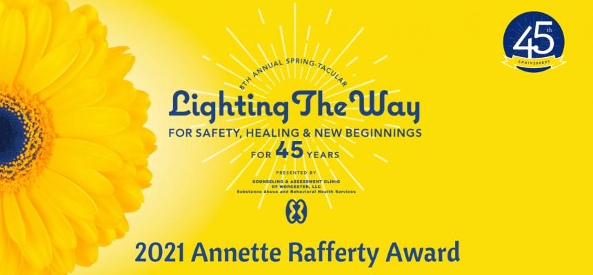 Congratulations, Patti McKone! 2021 Annette Rafferty Award Winner