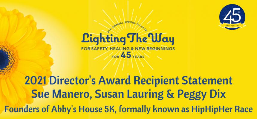 45th Anniversary | Director's Award Recipient Statement