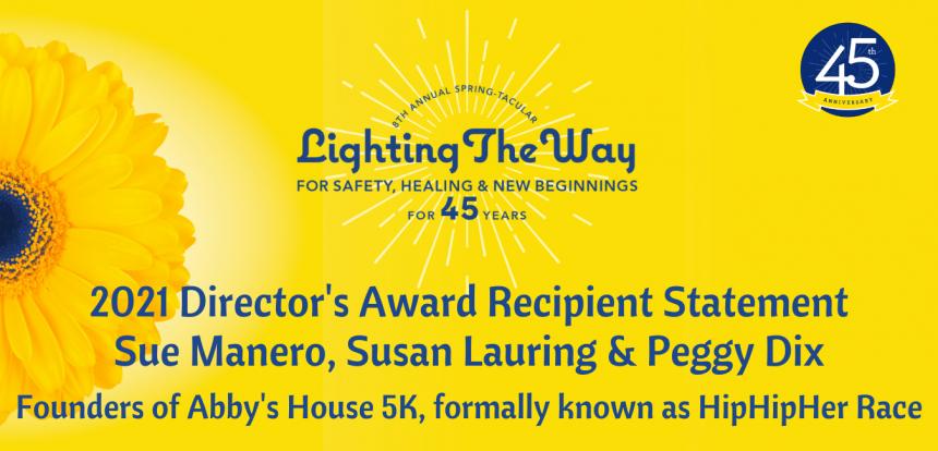 45th Anniversary   Director's Award Recipient Statement