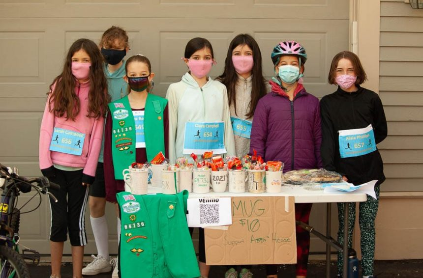 Northborough Girl Scout Troop Bronze Award benefits Abby's House